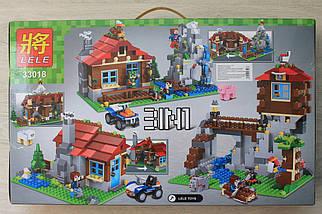 33018 Дачный домик героев Minecraft 592 детали, фото 2