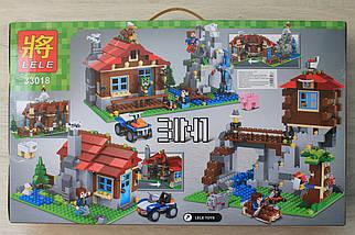 33018 Дачный домик героев Minecraft 592 детали, фото 3