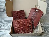 Подарочный набор коричневый кельтский узел (3 предмета)