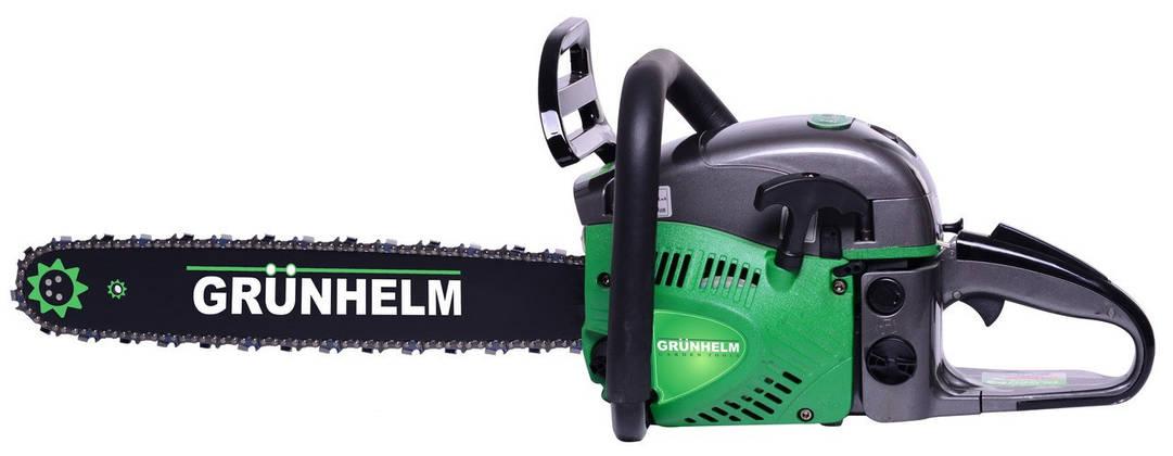 Бензопила Grunhelm GS5200М Professional, фото 2