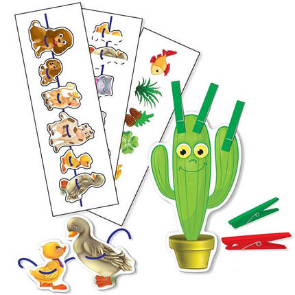 1604-02 Раннее развитие. Развивающие, обучающие игры. Игры с прищепками и шнурочками «Солнышко», фото 2