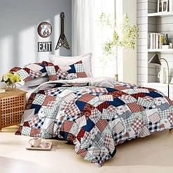 Комплект постельного белья ранфорс евро