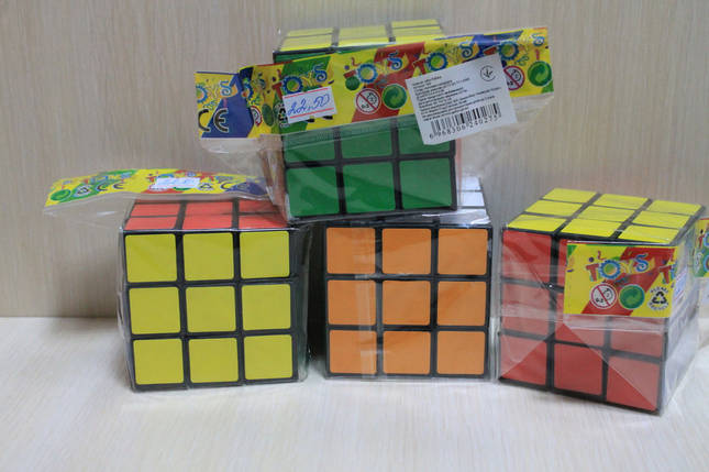 108 Кубик Рубика в пакете 7*7*7 см, фото 2