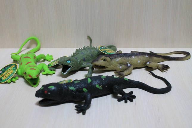 7425 Животные резиновые Крокодилы в коробке 27*20*6 см, фото 2