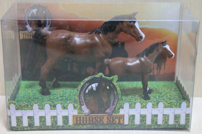 9512A-C Животные Лошади 2 шт в коробке 28*15*12см, фото 2