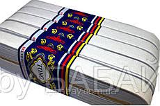 Резинки для одежды (20mm/7m) белая, тесьма эластичная