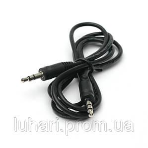 Аудио кабель PowerPlant 3.5 mm M-M 1м