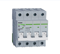 Автоматический выключатель Noark 10кА, х-ка D, 2А, 4P, Ex9BH 100526