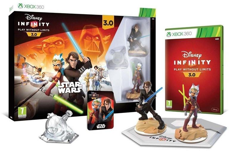Стартовый набор с диском для Xbox 360 DISNEY INFINITY 3.0 Star Wars - Original Toy Box