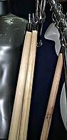 Палка для развешивания одежды деревянная  L = 1,5 м