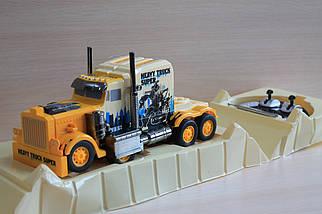 186 Трансформер трейлер на радиоуправлении в коробке, фото 3