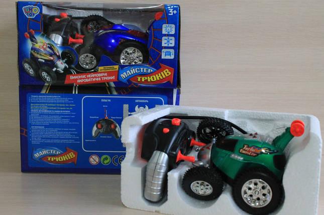 0468 Машинка перевертыш на радиоуправлении, на батарейках в коробке 25*12*14,, фото 2