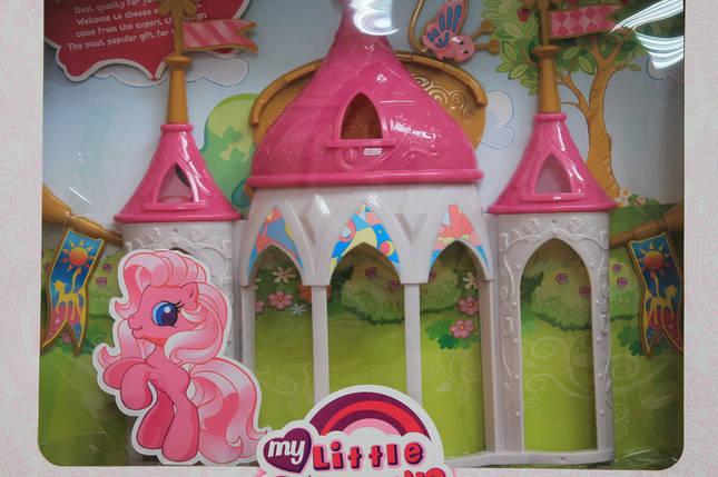 6627-1-2-3-4 Замок Май литл пони Игровой набор для девочки размер 41*52*6,5 см, фото 2