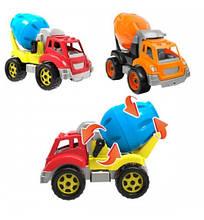 3718 Детская машинка Автомиксер, бетономешалка стройтехника тм Технок