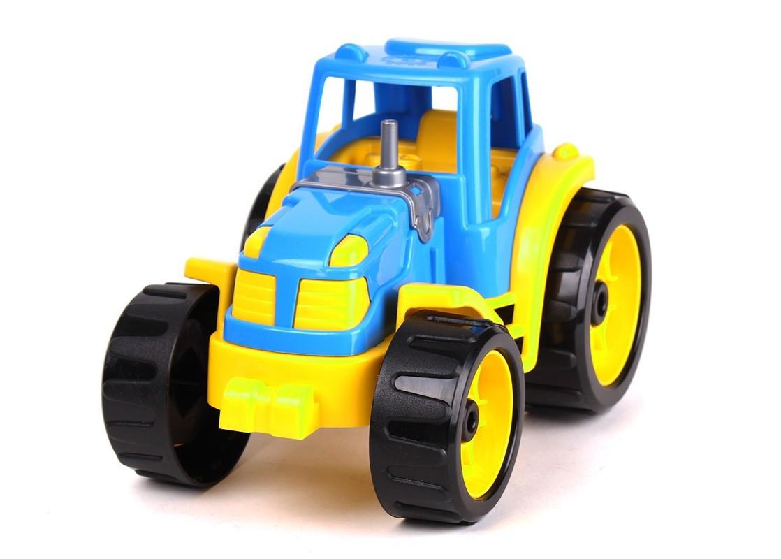 3800 Машинка Трактор для детей пластик тм Технок