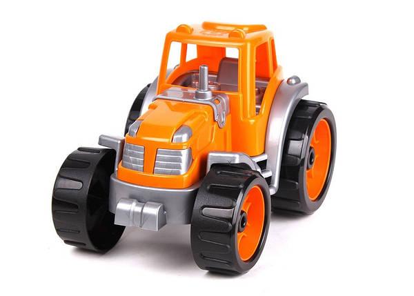 3800 Машинка Трактор для детей пластик тм Технок, фото 2