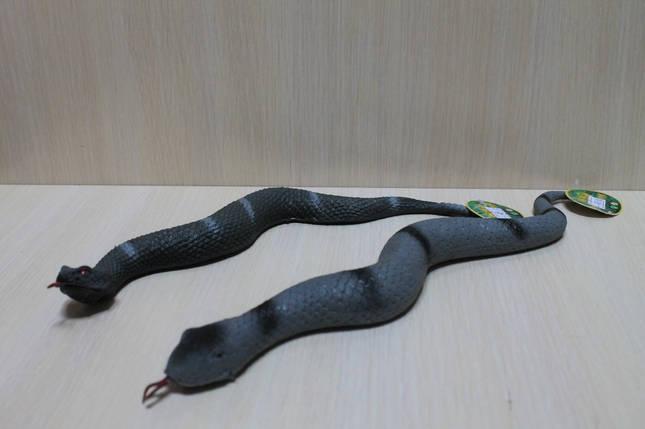 7212 Игрушка животно-тянучка, Змея резиновая для детей, фото 2