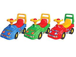 1196 Детский автомобиль толокар для прогулок Технок