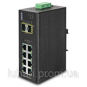 Управляемый промышленный коммутатор Planet IGS-10020MT (8-Port 10/100/1000T + 2 100/1000X SFP)
