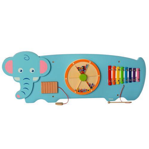Деревянная игрушка Бизиборд MD 2015 развивающая Слоник
