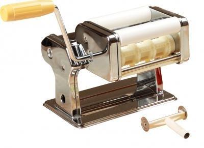 Лапшерезка тестораскатка с насадкой для равиоли Pasta Set QF-150