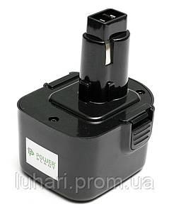Аккумулятор PowerPlant для шуруповертов и электроинструментов DeWALT GD-DE-12 12V 1.3Ah NICD(DE9074)