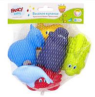 Набор резиновых детских игрушек для ванной «Веселое купание» FANCY BABY (BATH1)