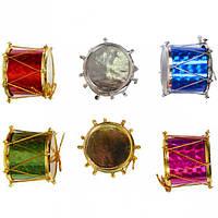 Набор-украшение «Барабан» цветной