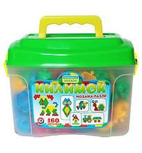3626 Детская игра Мозаика-пазлы Коврик 160 деталей пластик Технок