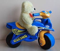 0139/10 Детский пластиковый Байк двухколесный мотоцикл толокар тм Долони, фото 2
