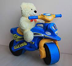 0139/10 Детский пластиковый Байк двухколесный мотоцикл толокар тм Долони, фото 3