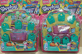003 Набор героев Shopkins 17 персонажей, сезон 3, размер 25*18*4 см