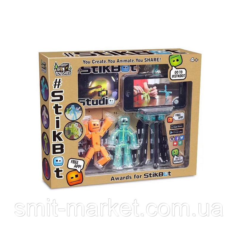 Игровой набор Фигурки StikBot