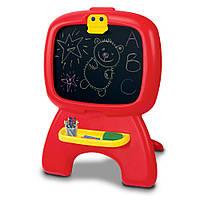 Доска мольберт детская Крайола Crayola My First Draw N Dabble Chalkboard Easel, фото 1