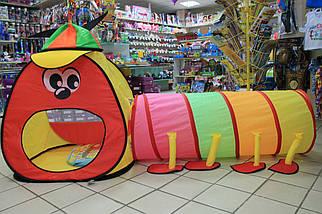 889-172B Детская палатка Домик с тоннелем размер 175*100*75 см, фото 3