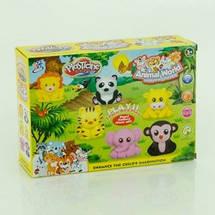 1304 А Тесто для лепки, набор для творчества Зоопарк, в коробке 24*6*18 см, фото 3