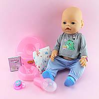 8006 Кукла пупс  Беби Борн Baby born с аксессуарами