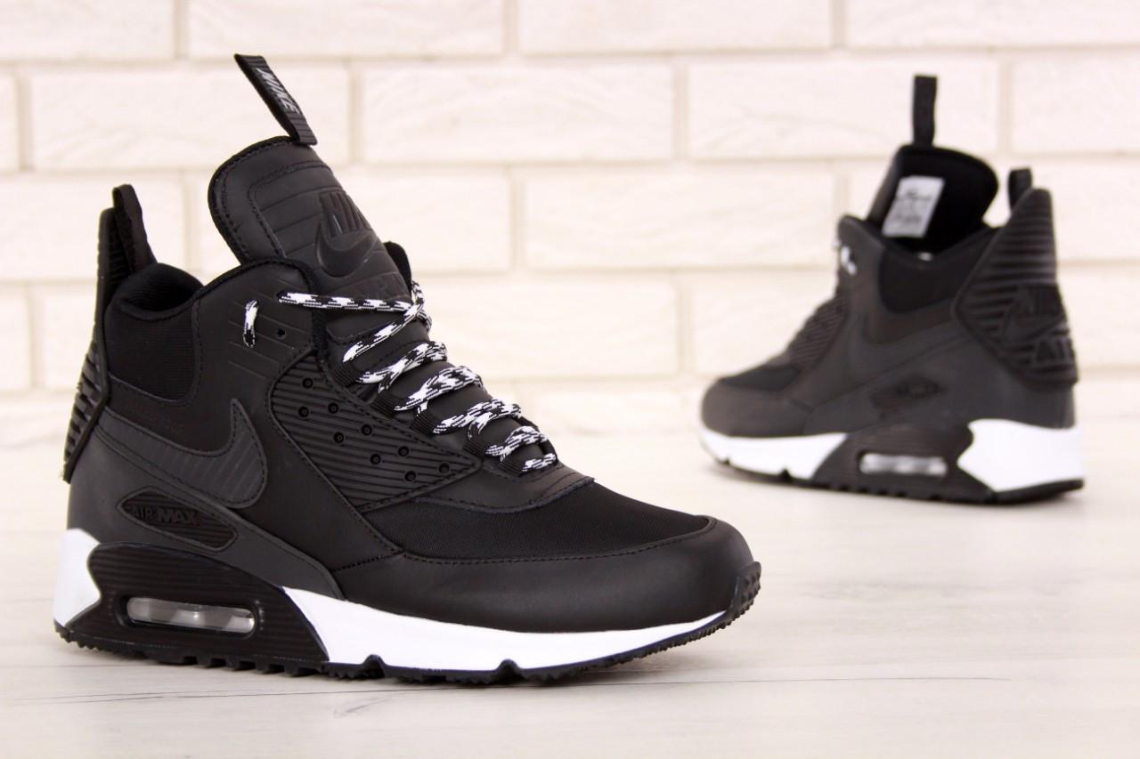20dce301 Мужские прочные кроссовки Nike Air Max 90 Sneakerboot Winter (Реплика) -  Krosi G в