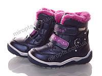 Ботинки (девочка зима, 21-26 р.) Clibee H161blue SuhL-346