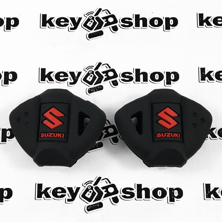 Чохол (чорний, силіконовий) для мото ключа Suzuki (Сузукі)