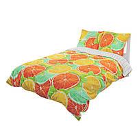 Комплект постельного белья Moorvin Двуспальный Сатин 200х215 см, КОД: 142820