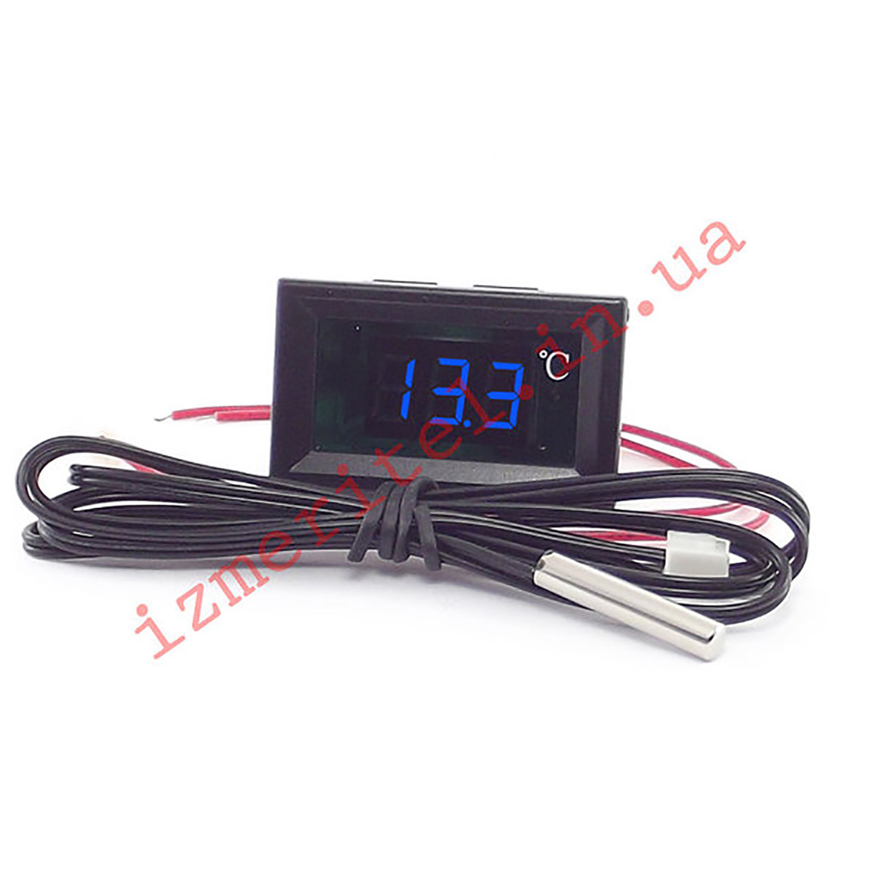 Встраиваемый цифровой термометр с выносным датчиком -50...+120 °С