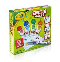 Набір для створення маркерів-смайлів Crayola Emoji Maker друк-штампик