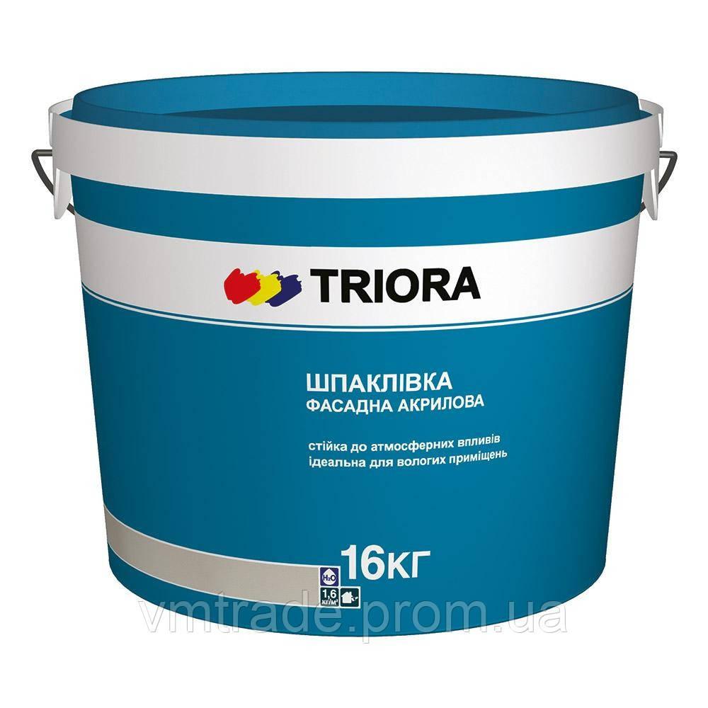 TRIORA Фасадная шпатлевка, 16 кг