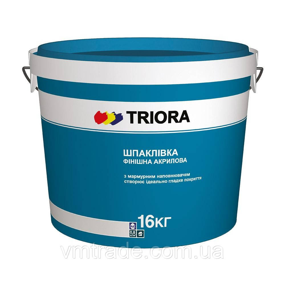 TRIORA Финишная шпатлевка, 16 кг