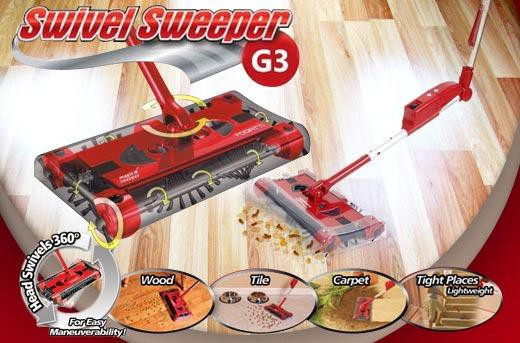 Многофункциональный электровеник 5в1 G3 SWIVEL SWEEPERCG13 PR4