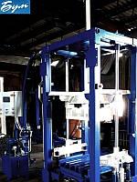 Вибропресс БП-120 для производства плитки, блоков, бордюров