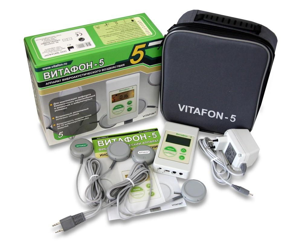 ВИТАФОН-5 аппарат виброакустический Праймед