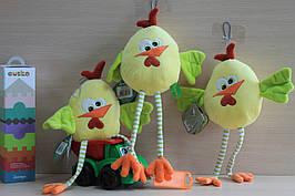 426A Цыпленок Кокки Петух символ 2017 года мягкая игрушка тм Левеня