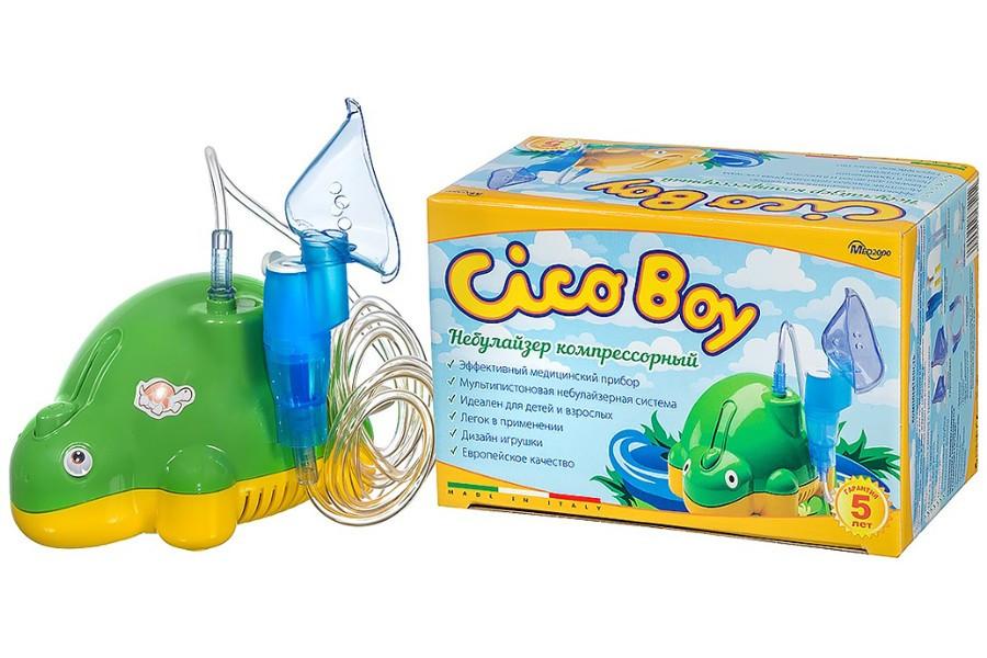 Детский компрессорный ингалятор (небулайзер) CICOBOY P4 Праймед